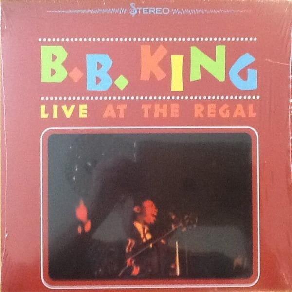 PŁYTA WINYLOWA KING, B.B. LIVE AT THE REGAL. LP