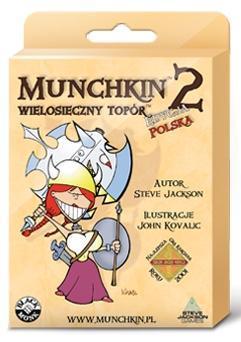 Munchkin 2 Wielosieczny Topór BLACK MONK
