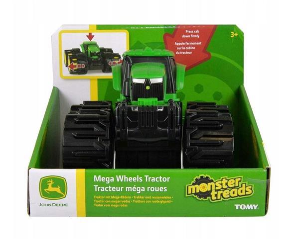 John Deere traktor mega opony TOMY