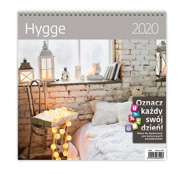 Kalendarz 2020 Hygge 30x30cm NARCISSUS