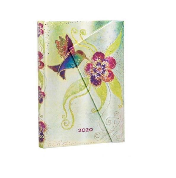 Kalendarz książkowy mini 2020 12M hor. Hummingbird