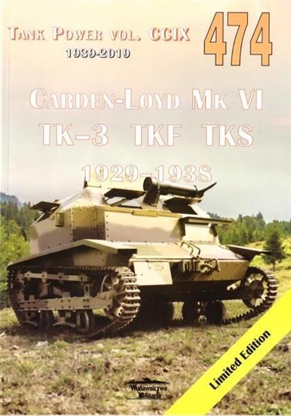 Carden-Loyd Mk VI TK-3 TKF TKS 1929-1938 vol. 474-340898
