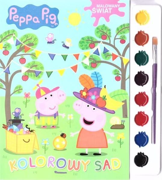 Świnka Peppa. Malowany świat. Kolorowy sad-29481