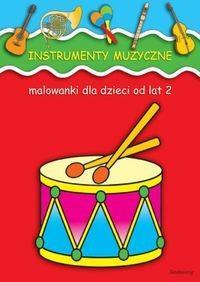 Malowanki Instrumenty muzyczne OUTLET-1813
