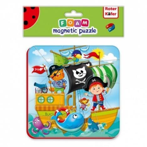 Miękkie magnetyczne puzzle Piraci