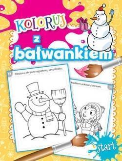 Pakiet: Smakołyki od Bałwanka/Koloruj z bałwankiem