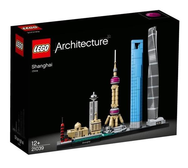 Lego ARCHITECTURE 21039 Szanghaj