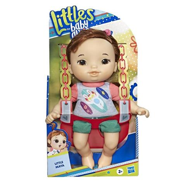 LALKA BABY ALIVE LITTLE MAYA