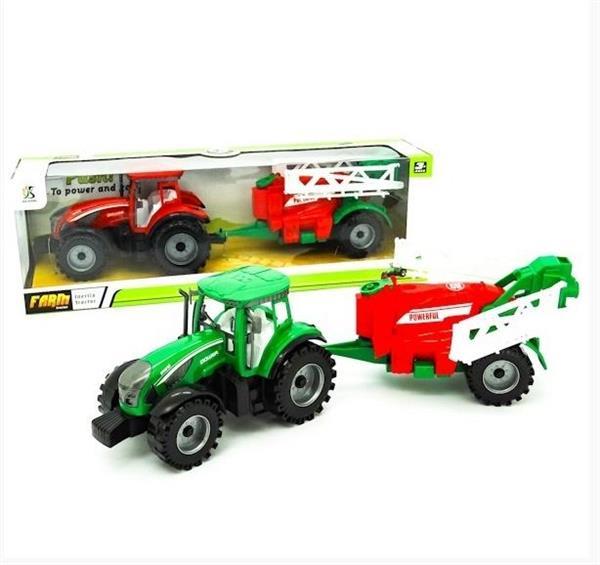 Ciągnik z maszyną rolniczą