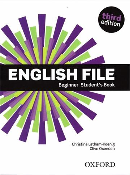 English File 3E Beginner SB OXFORD