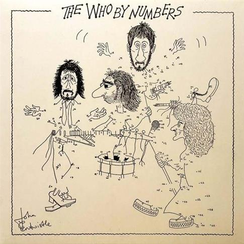 PŁYTA WINYLOWA WHO THE WHO BY NUMBERS LP