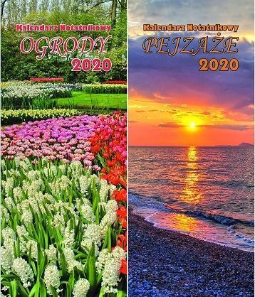 Kalendarz 2020 Notatnikowy MIX BESKIDY