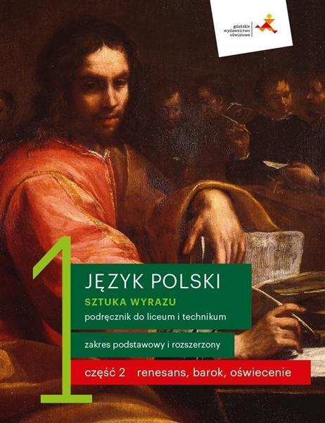 J. Polski LO 1 Sztuka wyrazu cz.2 podr. ZPR w.2019