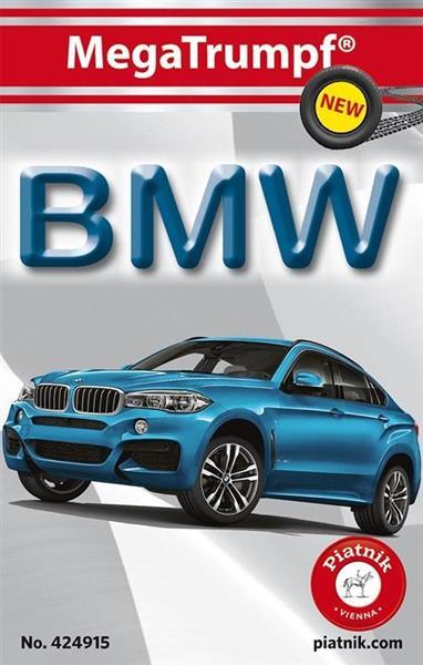 Karty kwartet ''BMW'' PIATNIK
