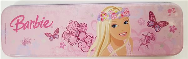 Piórnik metalowy Barbie 2  Mattel OUTLET