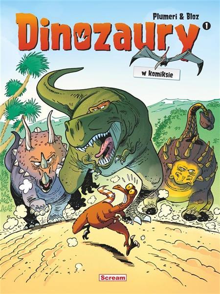 Dinozaury w komiksie T.1