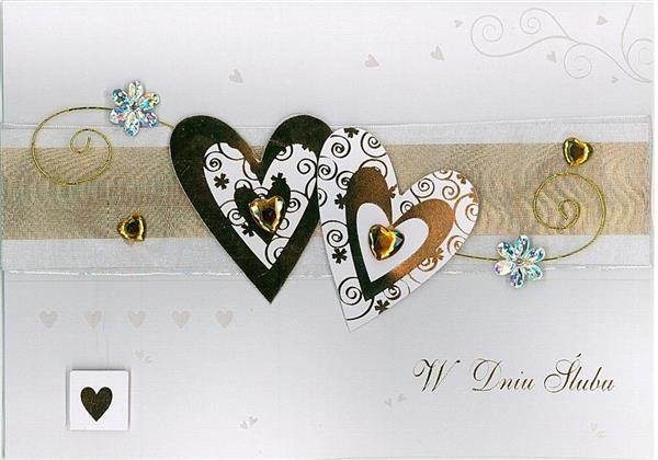 Karnet ślubny B6 Premium 24 (5szt)