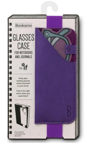 Bookaroo Glasses case Uchwyt na okulary fioletowy