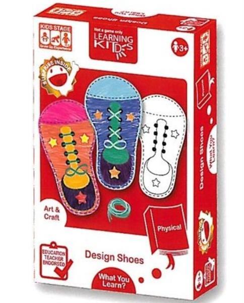 RUSSEL Karty edukacyjne - Projektowanie butów