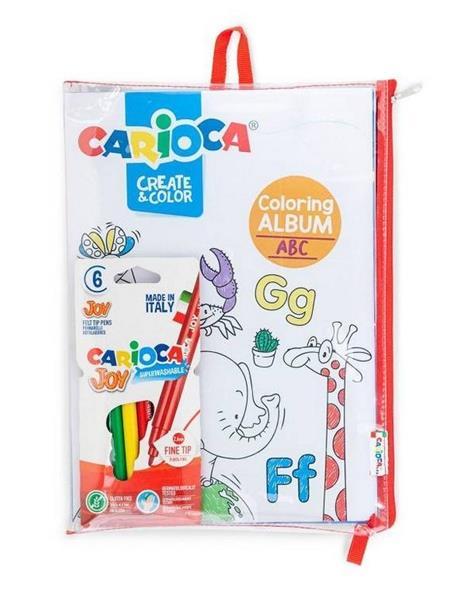 Kolorowanka + 10 pisaków CARIOCA