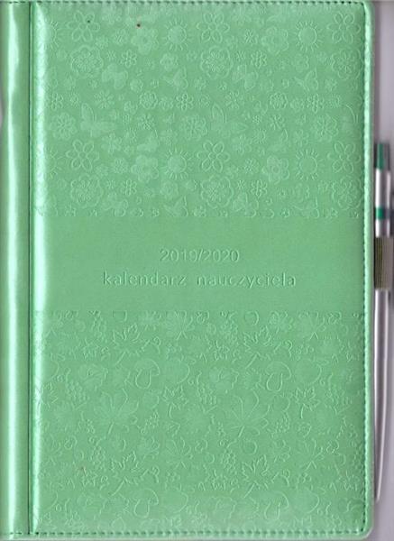 Kalendarz nauczyciela 2019/2020 zieleń WYPIÓR