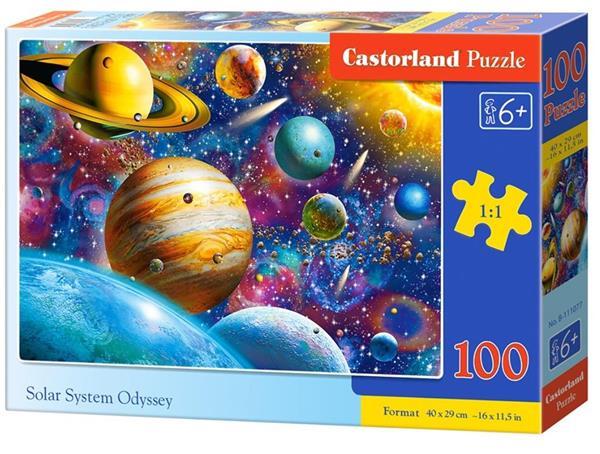 Puzzle 100 Solar System Odyssey CASTOR
