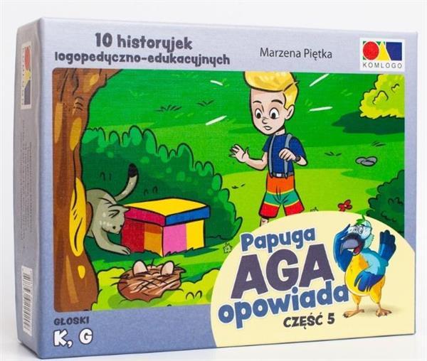 Historyjki obrazkowe. Papuga Aga opowiada cz. 5