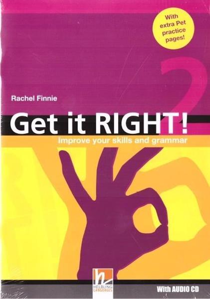 Get It Right! 2 SB + audio CD