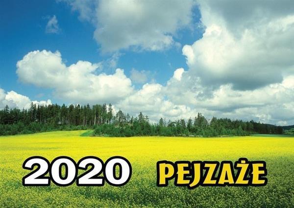 Kalendarz 2020 Rodzinny - Pejzaże BESKIDY