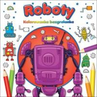 Kolorowanka bazgrolanka Roboty OUTLET