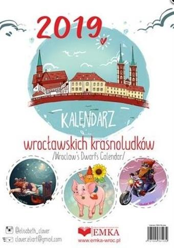 Kalendarz wrocławskich krasnoludków 2019