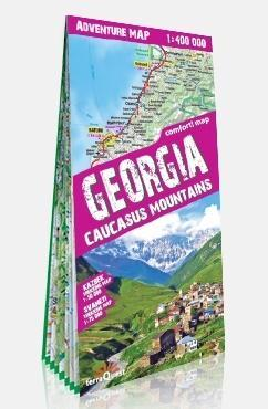 Adventure map Gruzja 1:400 000