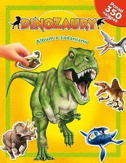 Dinozaury. Album z zadaniami