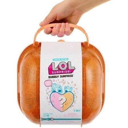 LOL Surprise Bubbly walizka pomarańczowa