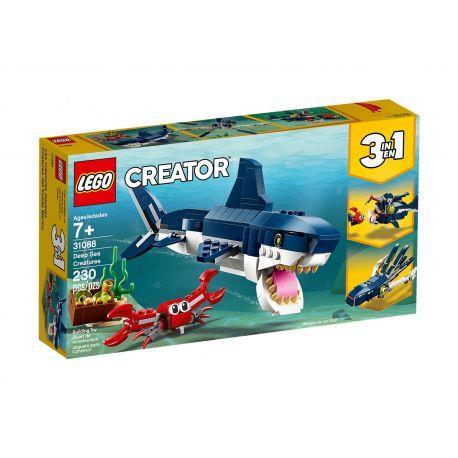 MORSKIE STWORZENIA LEGO CREATOR 31088