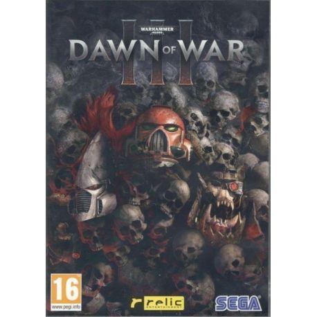 WARHAMMER 40,000 DAWN OF WAR III PC DVD ROM