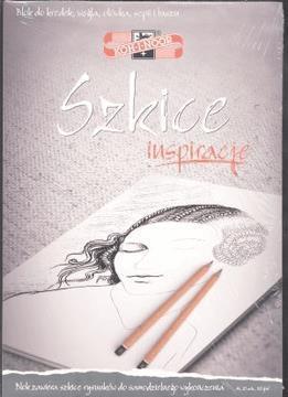 Blok Inspiracje - Szkice A4/20 arkuszy 110g