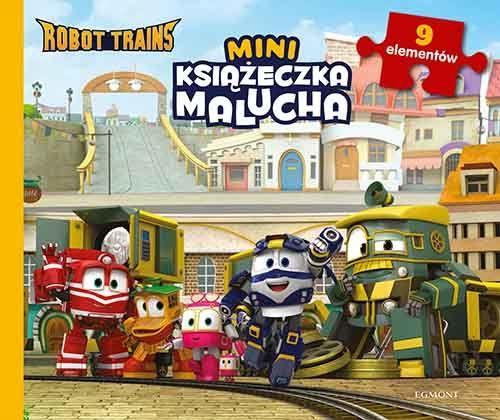 Miniksiążeczka malucha. Robot Trains