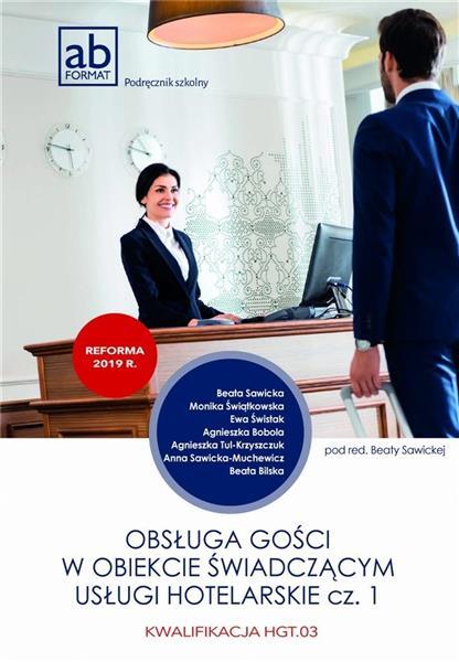 Obsługa gości w obiekcie świad. usługi hotel. cz.1