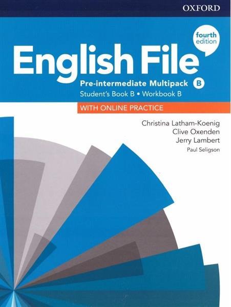 English File 4E Pre-Intermed. Multipack B + online