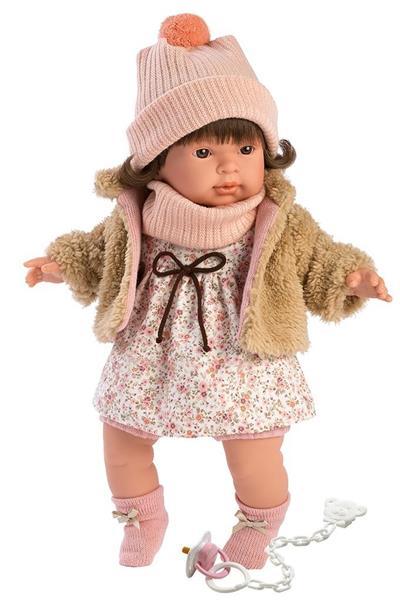 Lalka 42152 Pippa płacząca brunetka 42cm