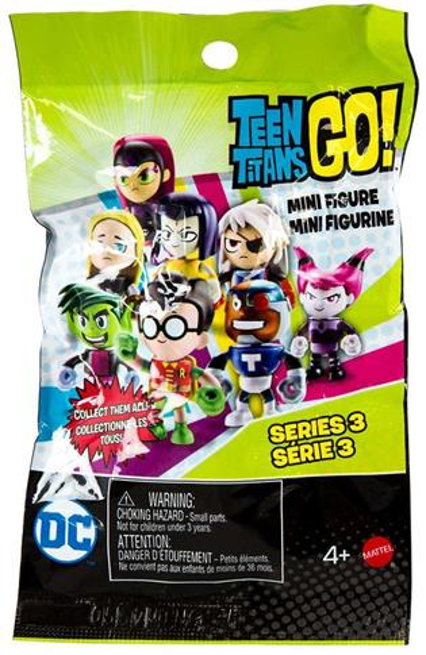 Teen Titans Go! Series 3 Teen Titans Mystery outle