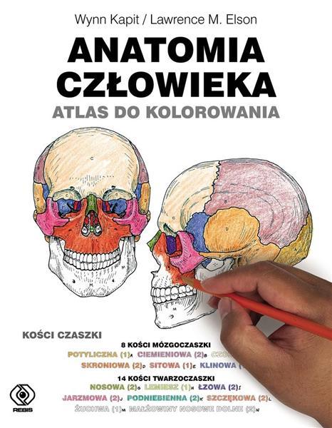 Anatomia człowieka. Atlas do kolorowania-309153