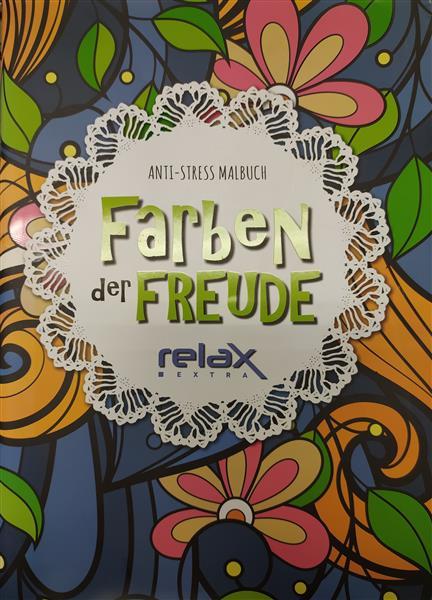 Kolorowanka antystresowa FARBEN DER FREUDE RELAX -19604