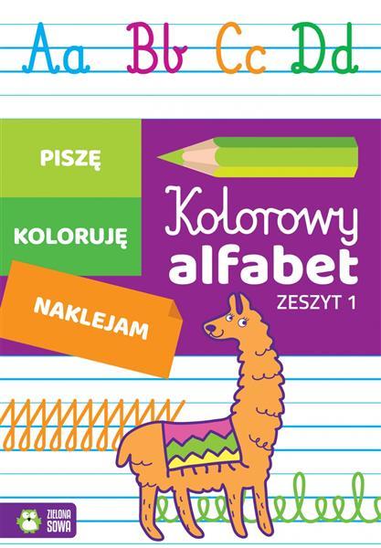 Kolorowy alfabet. Zeszyt 1 9788381540773-24198