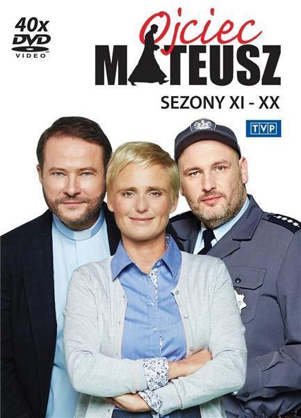 Ojciec Mateusz. Sezony 11-20 BOX DVD