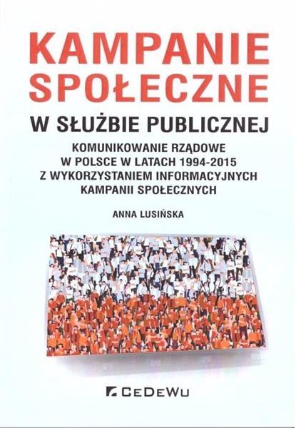 Kampanie społeczne w służbie publicznej