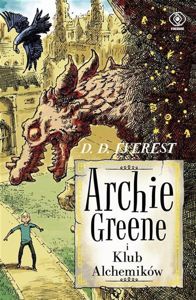 Archie Greene i Klub Alchemików t.2 OUTLET