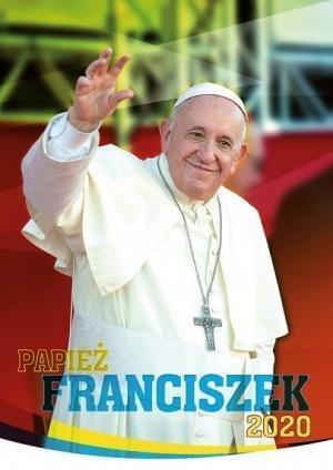 Kalendarz 2020 Ścienny papież Franciszek ekono.