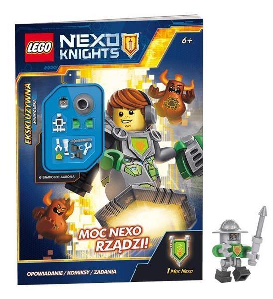 LEGO NEXO KNIGHTS. MOC NEXO RZĄDZI! OUTLET